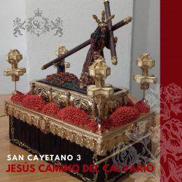 Paso Titular Cofradía a de Jesus Camino del Calvario de Zaragoza